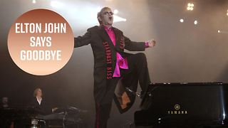 Elton John announces his retirement - Video