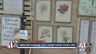 Greater Kansas City Home Show kicks off - Video