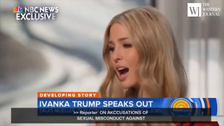 NBC Reporter Asks Pointed Question About Donald... Gets Rocked By Ivanka's Brutal Response - Video