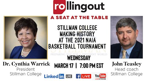 A SEAT AT THE TABLE WITH STILLMAN COLLEGE: PLAYING WITH HBCU PRIDE!