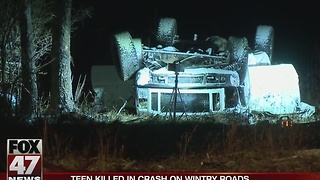 UPDATE: Rollover accident kills 14-year-old, family in the hospital - Video