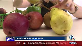 Five seasonal foods - Video