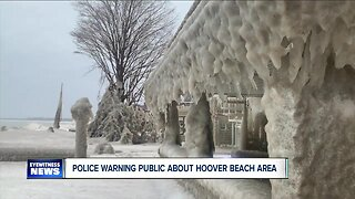 Police issue warning about Hoover Beach area