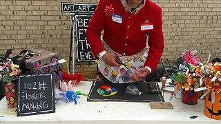 Local artist created arts & crafts videos