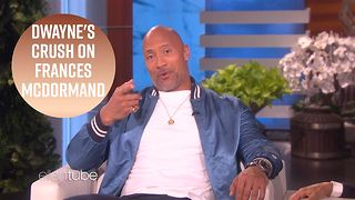 Dwayne Johnson proposes to Frances McDormand - Video
