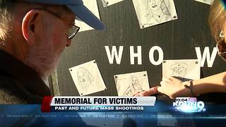 Remembering gun violence victims through art - Video
