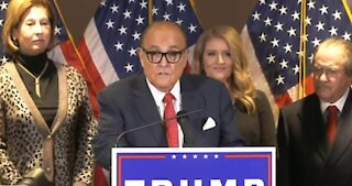 Rudy Giuliani Press Conference on Election Fraud