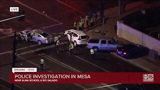 DPS: Driver involved in multi-vehicle crash after vehicle pursuit