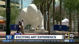 New art experience taking over downtown Mesa - Video