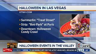 Halloween events in the Las Vegas valley - Video