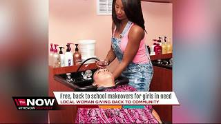 Local woman giving free, back-to-school makeovers to homeless girls