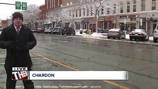 Lake effect snow in Chardon