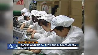 State lawmaker: Major problem found in Foxconn contract - Video