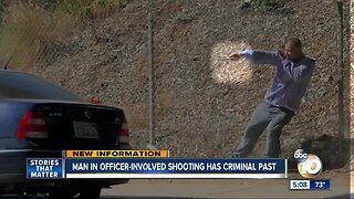 Suspect in officer-involved shooting in Logan Heights has criminal past