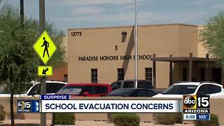 Students fall ill during evacuation from Arizona school in the summer