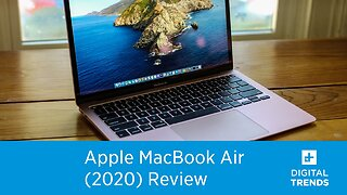 Apple MacBook Air (2020) Review | The Perfect Entry-Level Mac