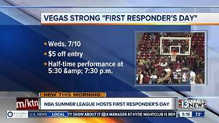 NBA Summer League hosting Vegas Strong First Responders Day - Video