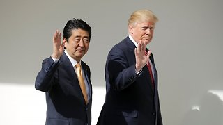 Trump Set To Host The Japanese Prime Minister At Mar-A-Lago Again - Video