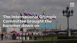 Russia Barred From Olympics For 1st Time In History - Video