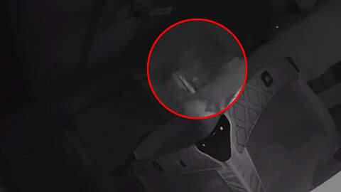 Ghost caught on camera after scratches appear on baby's face