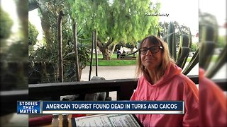 American tourist found dead in Turks and Caicos