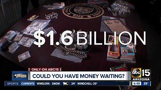 Do you have money waiting?