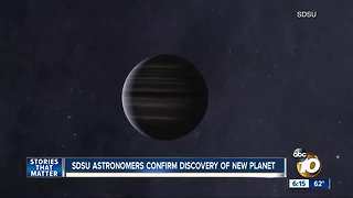 San Diego State astronomers confirm discovery of new planet