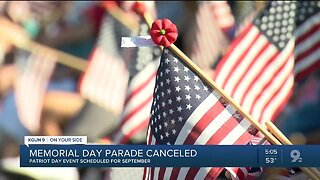 Tucson Memorial Day parade, ceremony canceled due to coronavirus concerns