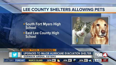 New animal shelter in the works incase of a hurricane in SWFL