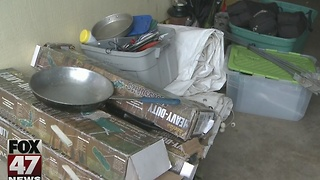 Police recover stolen boy scout equipment - Video