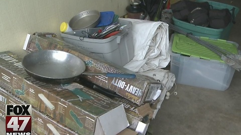 Police recover stolen boy scout equipment
