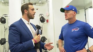 One-on-one with head coach Sean McDermott