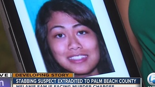 Stabbing suspect Melanie Eam extradited to Palm Beach County