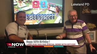 Lakeland man celebrates 107th birthday - Video