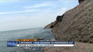 Two drownings on Independence Day - Video