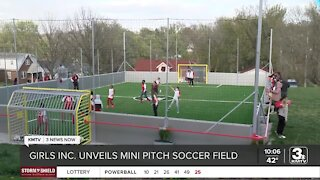 Girls Inc. unveils new mini-pitch soccer field