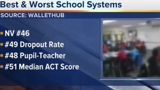 Study finds Nevada's schools among worst in country - Video