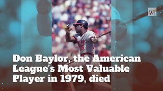 Baseball Great, Former MVP Dies At Age 68 - Video