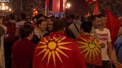 Macedonians Protest Agreement to Change Country's Name