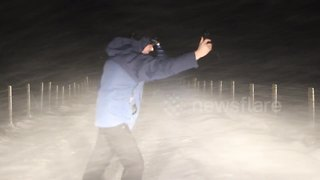 Blizzard hits Northern Ireland overnight - Video