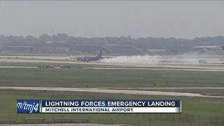 Mitchell International Airport reopens after military plane emergency landing