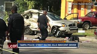 Street racing killers innocent driver - Video
