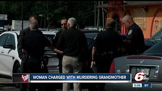 Woman charged with murdering grandmother could face 65 years in prison - Video