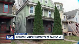 Neighbors react to daughter/boyfriend murder of father - Video