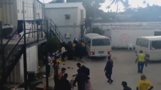 Authorities Moving Manus Island Refugees Onto Buses, Refugees Say - Video