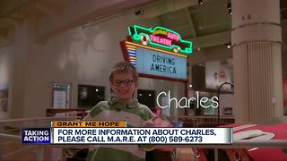 Grant Me Hope: Charles enjoys Legos, trains, animals, and science - Video