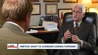 How to come forward with sexual misconduct allegations - Video