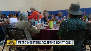 Metropolitan Ministries holiday tent opens in Tampa for donations - Video