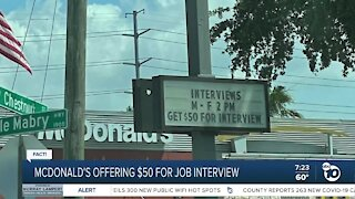 Fact or Fiction: Mcdonalds job interview