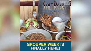Yum! Grouper Week highlights delicious seafood dishes in St. Pete & Clearwater - Video